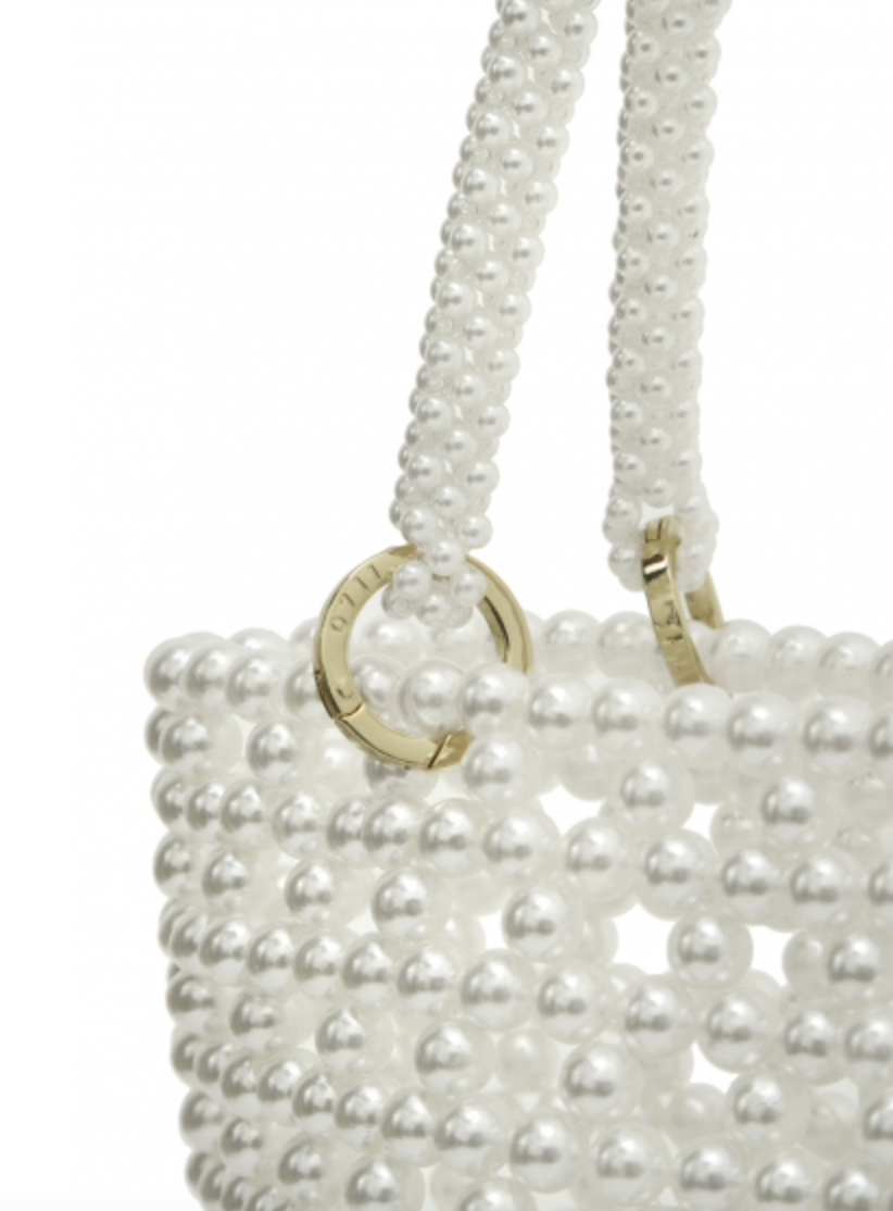Pearl Scoop Bag by 0711 Tbilisi on curated-crowd.com