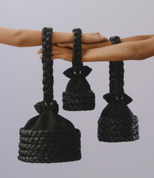 Black Medium Freja by 0711 Tbilisi on curated-crowd.com