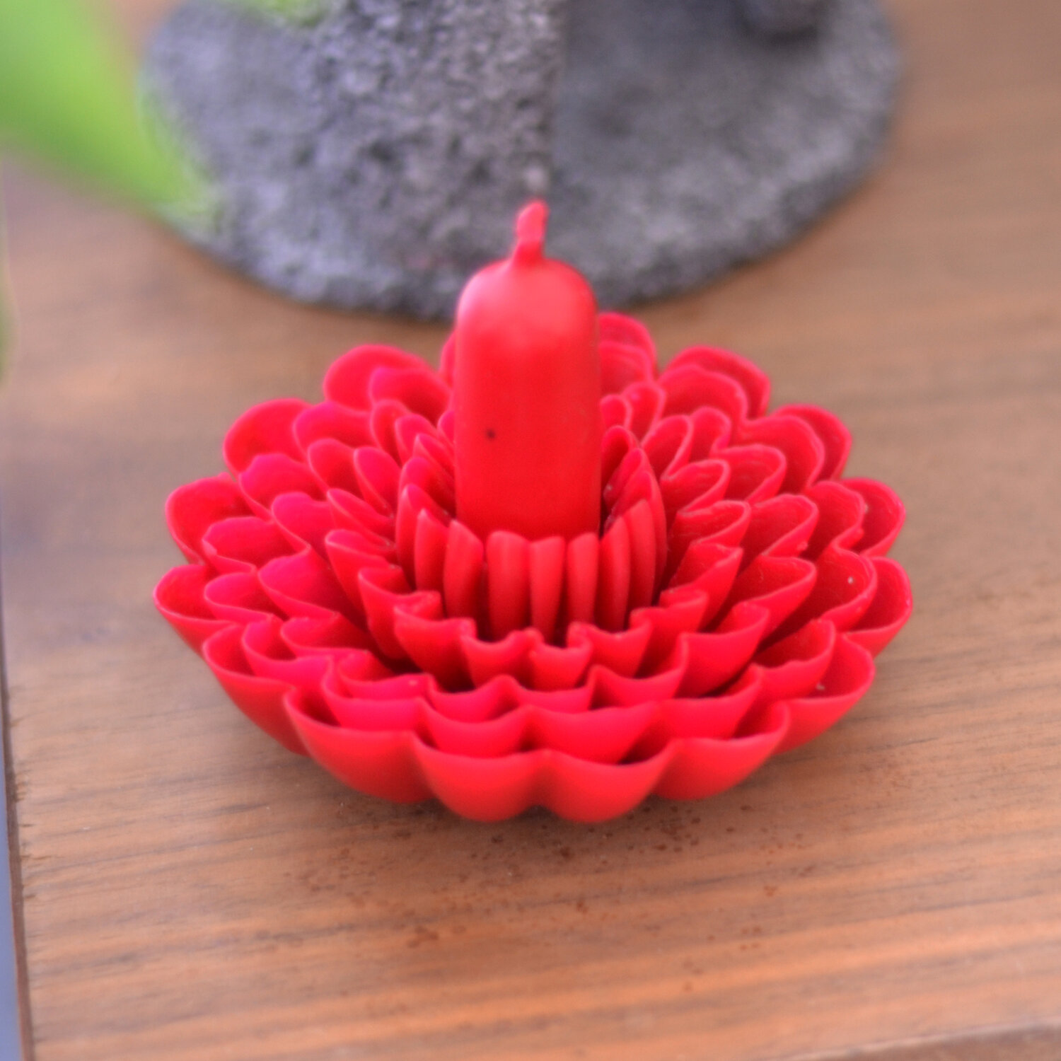Blossom Candle by La Muerte Tiene Permiso on curated-crowd.com