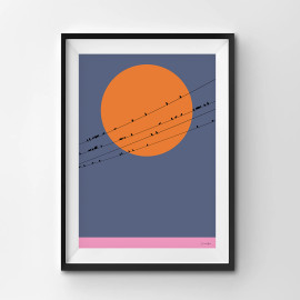On A Wire - A3 by Christian Azolan on curated-crowd.com