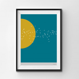 Into The Sun - A3 by Christian Azolan on curated-crowd.com