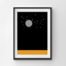 Desert Night - A3 by Christian Azolan on curated-crowd.com