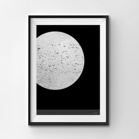 Silver Moon- A3 by Christian Azolan on curated-crowd.com