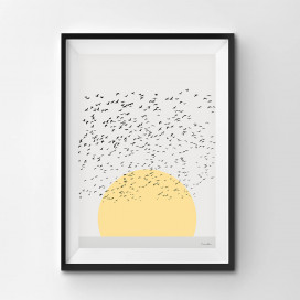 Sunrise - A3 by Christian Azolan on curated-crowd.com