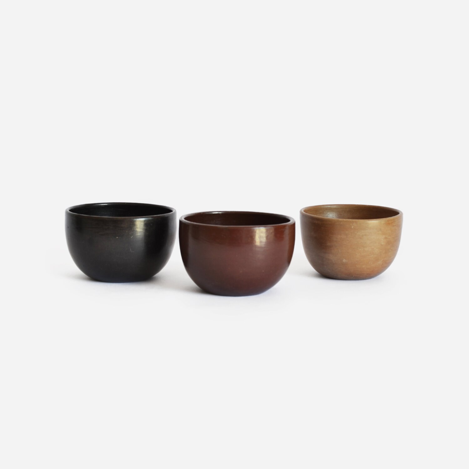 Set of 2 Beeswax Americano Cups | Black Clay by La Muerte Tiene Permiso on curated-crowd.com