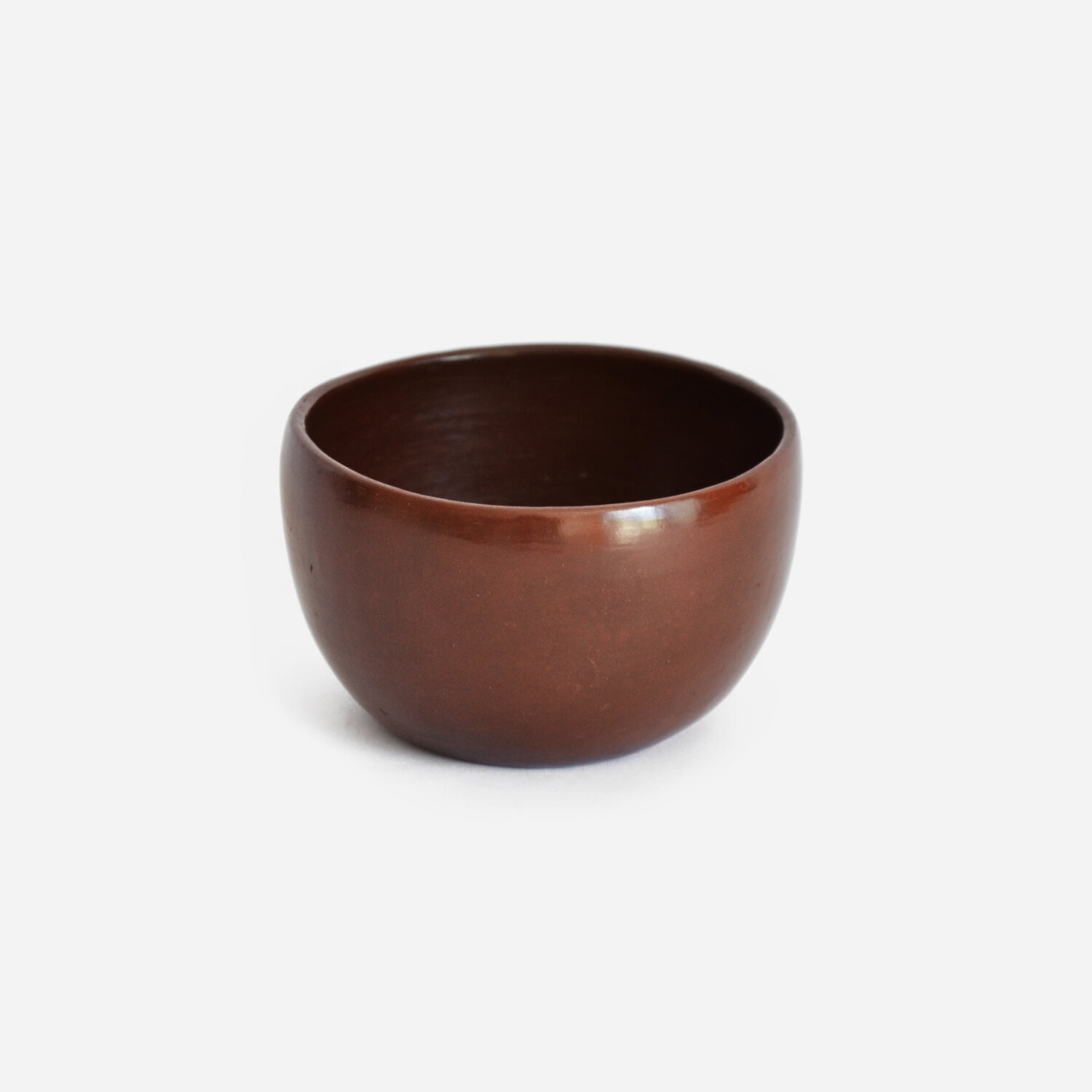 Set of 2 Small Red Bowls   Beeswax Finish by La Muerte Tiene Permiso on curated-crowd.com