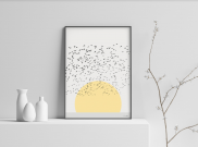 Sunrise - A4 by Christian Azolan on curated-crowd.com