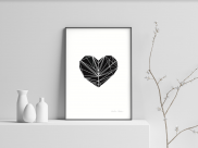 A Hard Heart - A4 by Christian Azolan on curated-crowd.com