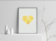 A Joyful Heart - A4 by Christian Azolan on curated-crowd.com