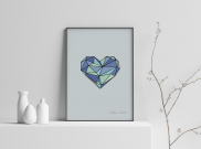 A Loyal Heart - A4 by Christian Azolan on curated-crowd.com