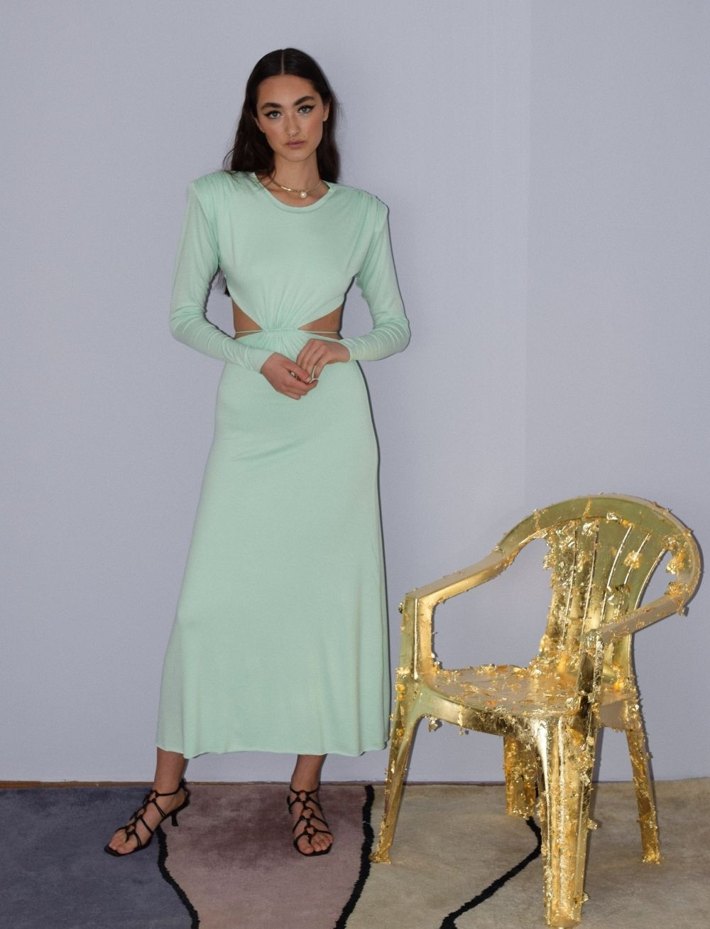 Patricia Wave Dress by Manurí on curated-crowd.com
