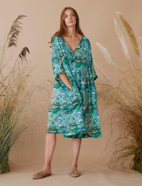 Oversize Japanese Pond Dress by Ailanto on curated-crowd.com