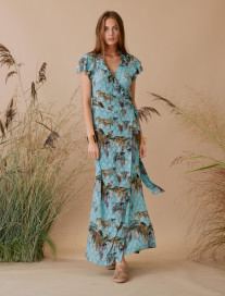 Romantic Wisteria Dress by Ailanto on curated-crowd.com