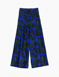 Palm Trees Culotte Trousers by Ailanto on curated-crowd.com