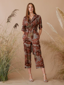 Palm Trees Ethnic Jumpsuit by Ailanto on curated-crowd.com