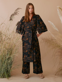 Palm Trees Coat by Ailanto on curated-crowd.com