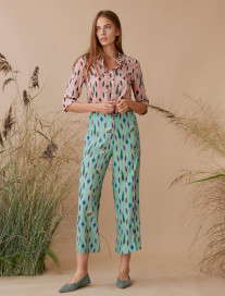 Geometric Culotte Trousers by Ailanto on curated-crowd.com