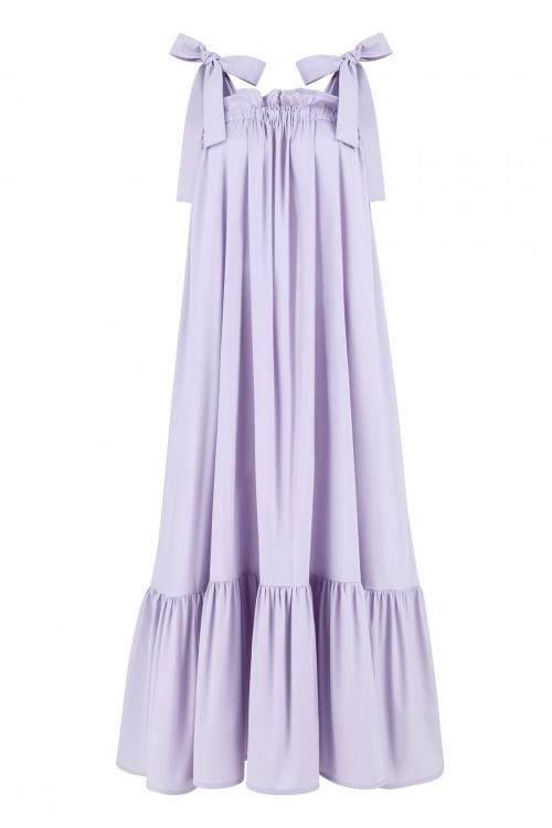Olivia Cotton Dress by Monica Nera on curated-crowd.com