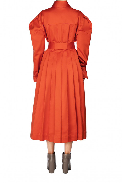 Puff Sleeve Dress Antoinette by Z.G.EST on curated-crowd.com