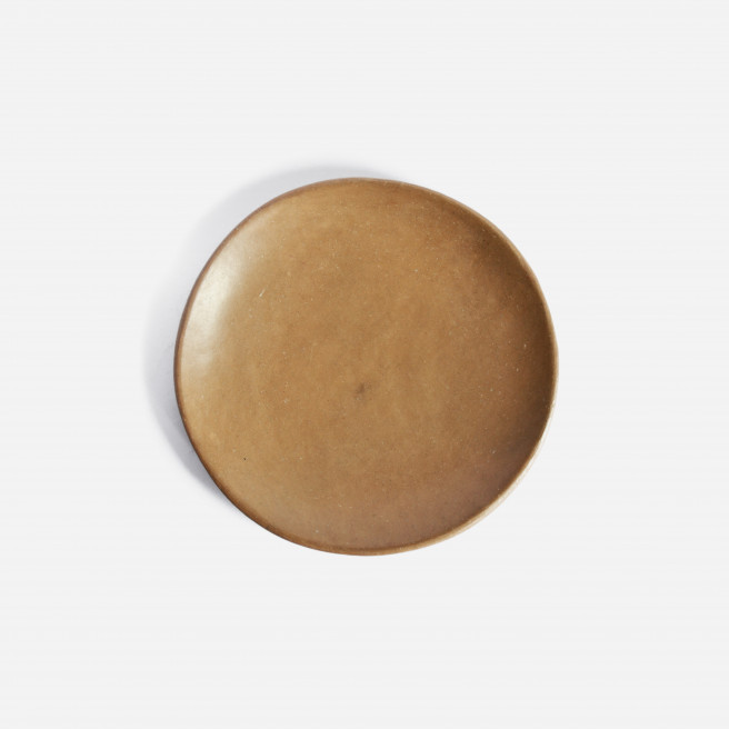 Set of 2 Beeswax Side Plates by La Muerte Tiene Permiso on curated-crowd.com
