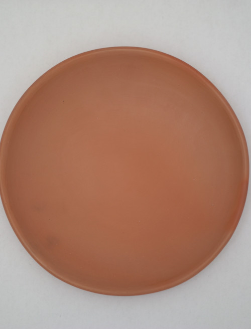 Set of 2 Sunset Dinner Plates | Oaxacan Clay by La Muerte Tiene Permiso on curated-crowd.com