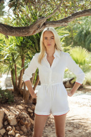 Portofino Playsuit by Oramai London on curated-crowd.com