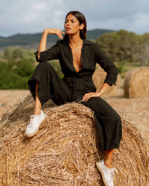 Portofino Jumpsuit by Oramai London on curated-crowd.com