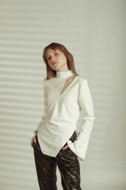 Cut-out Top by Z.G.EST on curated-crowd.com