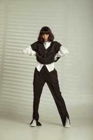 Pants with Front Slits by Z.G.EST on curated-crowd.com