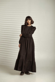 Black Maxi Dress by Z.G.EST on curated-crowd.com