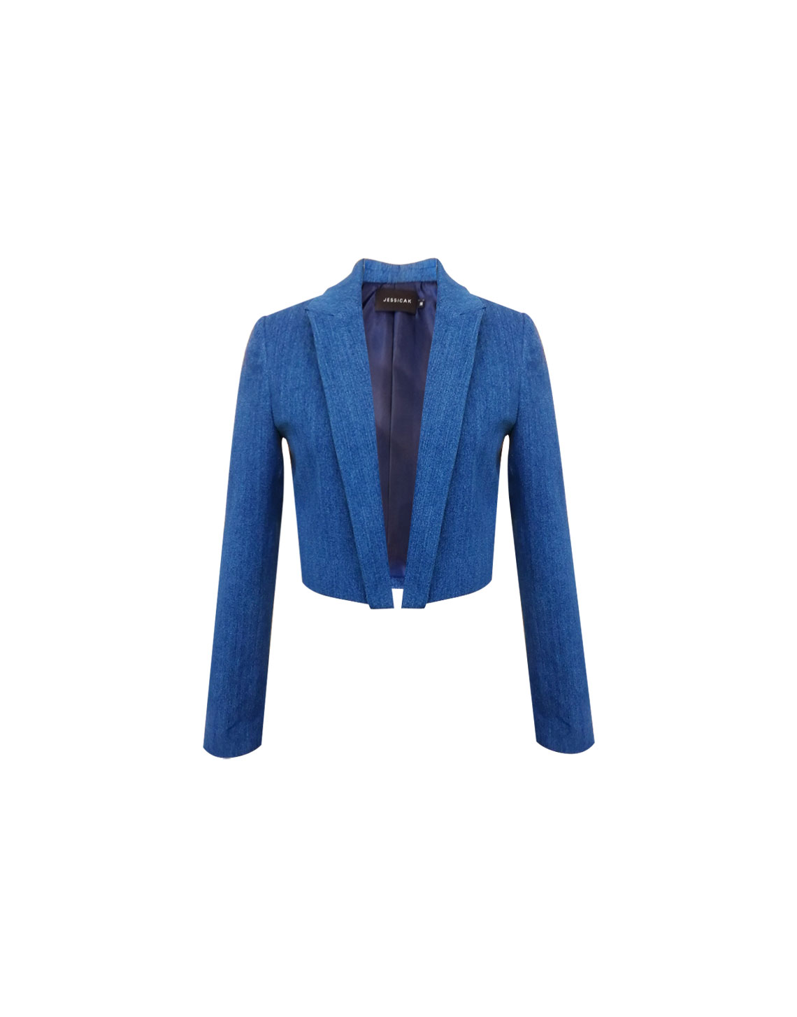 Fly Jacket - Denim by Jessica K on curated-crowd.com