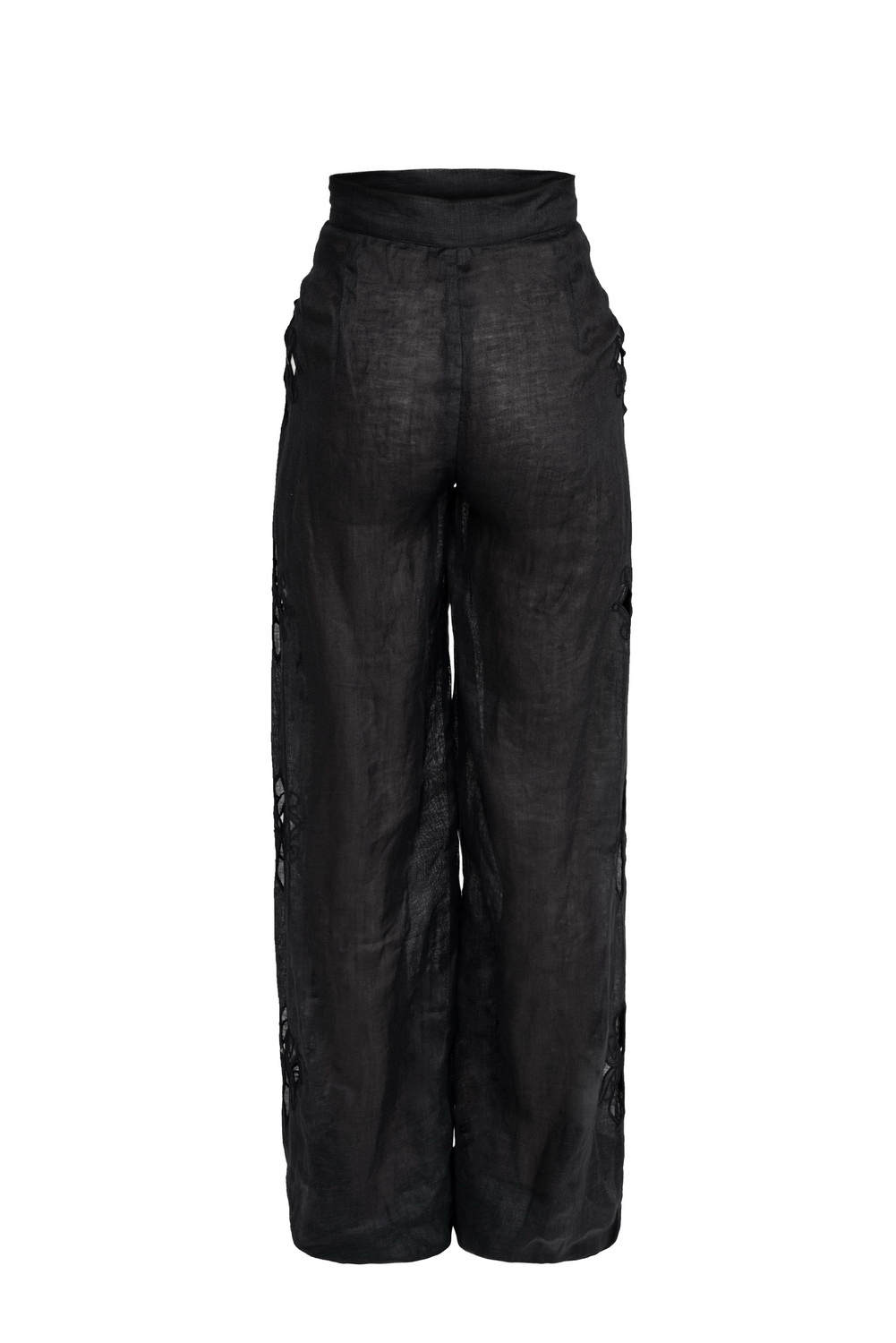 Embroidered Pants by Atelier Handmade on curated-crowd.com