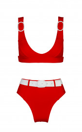 Typhoon Red Bottoms by Medina Swimwear on curated-crowd.com
