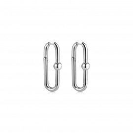 Sarah Silver Earrings by Emili on curated-crowd.com