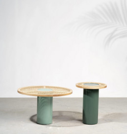 Chaand Side Table by Kam Ce Kam on curated-crowd.com