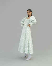 Aqua Dress by Little Things Studio on curated-crowd.com