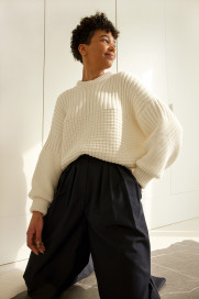Delčia Sweater by The Knotty Ones on curated-crowd.com
