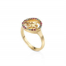 Nova Rainbow Ring by Aveen on curated-crowd.com