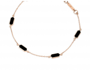 Black Carys Bracelet by Aveen on curated-crowd.com