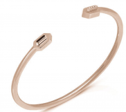 Eros Bangle in 18k Rose Gold by Aveen on curated-crowd.com