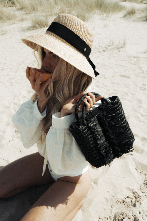 Midnight Twist Bag by Madebywave on curated-crowd.com