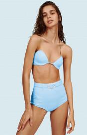 Oasis Bikini Top Blue by Medina Swimwear on curated-crowd.com