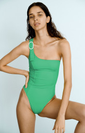 Captain Green Swimsuit by Medina Swimwear on curated-crowd.com