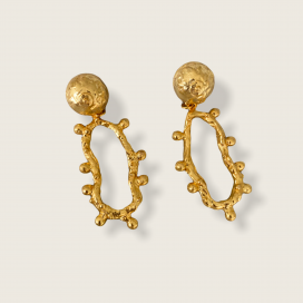 Pechos Rotos 2 In 1 Charms Earrings by Jill Hopkins Jewellery on curated-crowd.com