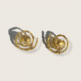 Vida Spiral Earrings by Jill Hopkins Jewellery on curated-crowd.com
