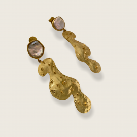 Mother Statement Earrings by Jill Hopkins Jewellery on curated-crowd.com