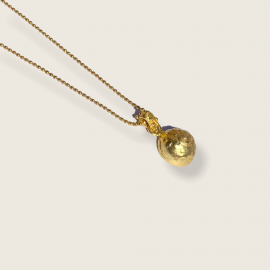 Pechos Rotos Necklace by Jill Hopkins Jewellery on curated-crowd.com
