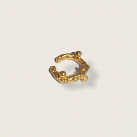 Raíces Ring/ Earcuff by Jill Hopkins Jewellery on curated-crowd.com
