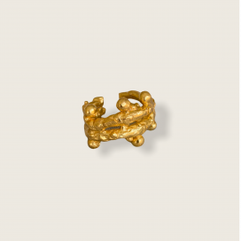 Mother Duo Chunky Ring by Jill Hopkins Jewellery on curated-crowd.com