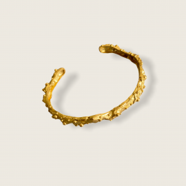 Raíces Chunky Bracelet by Jill Hopkins Jewellery on curated-crowd.com